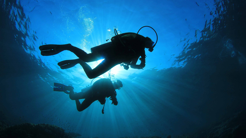 slider 1 - Physical Fitness and Scuba Diving